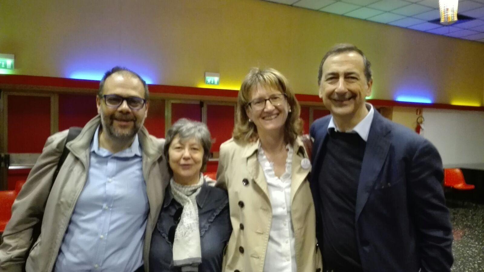 24 Aprile - Con Beppe Sala in zona 4
