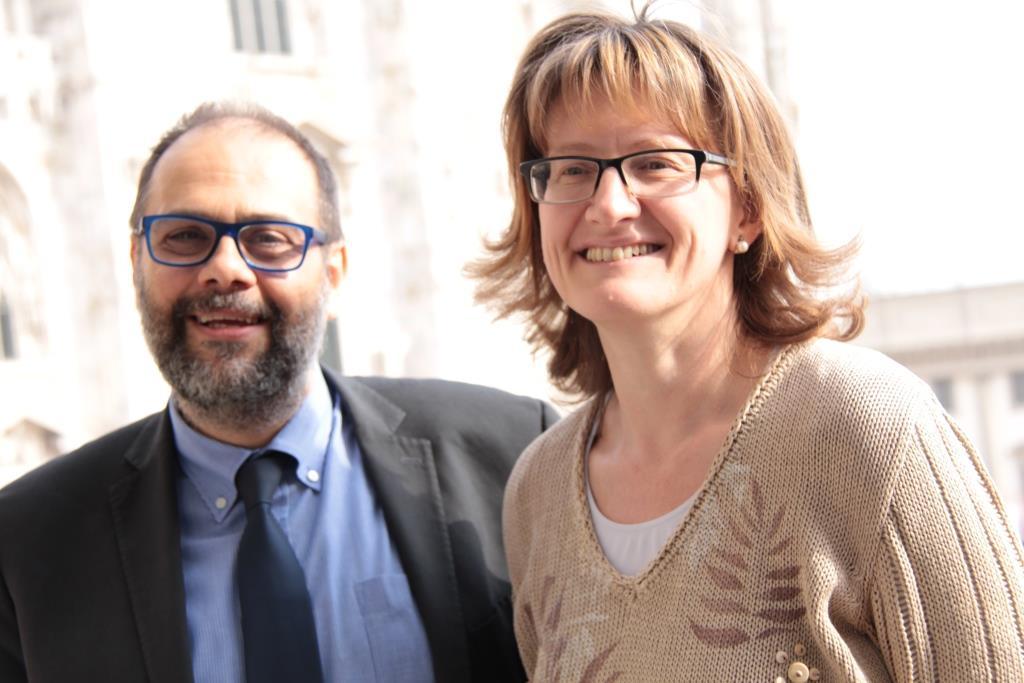 Con Marco Granelli, Assessore alla Sicurezza e coesione sociale per il Comune di Milano