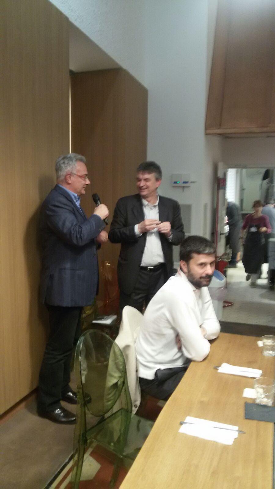 24 aprile, Cena di solidarietà al Refettorio ambrosiano con Fabio Pizzul