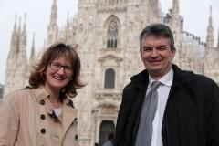 Con Fabio Pizzul, Consigliere regionale della Lombardia